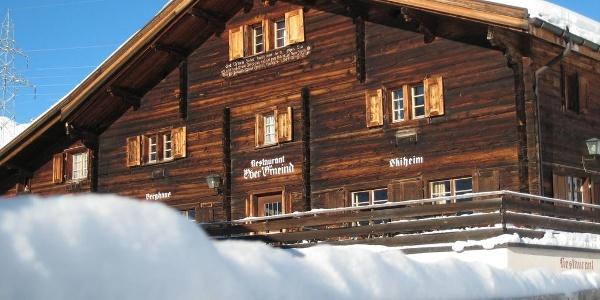 Berghaus Obergmeind Winter