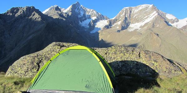 Biwak auf Ober Sattla zur Höhenanpassung