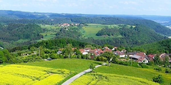 Blick vom Juxkopf nach Dauernberg