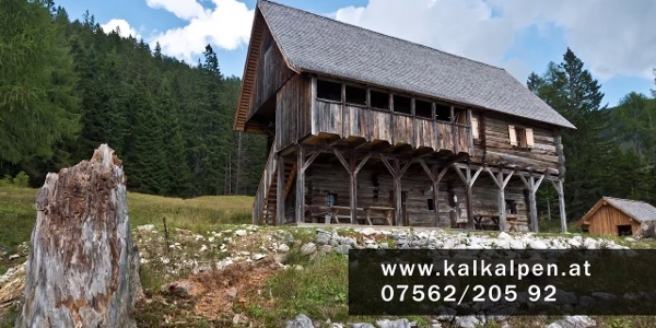 Bärenriedlau Hütte im Nationalpark Kalkalpen