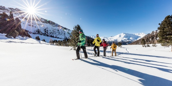 Schneeschuhwandern im Val Müstair