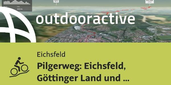 Mountainbike-tour in Eichsfeld: Pilgerweg: Eichsfeld, Göttinger Land und Weserbergland vom ...