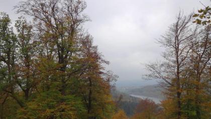 Blick vom Keltenring zum Primsstausee