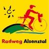 Routenlogo für den Alsenz-Radweg