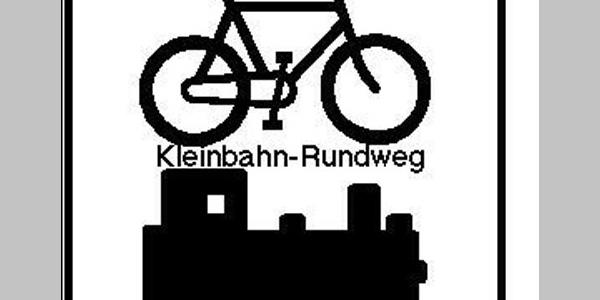 Routenlogo für den Kleinbahn-Radrundweg