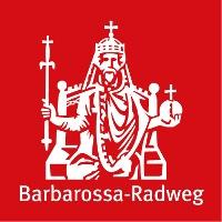 Routenlogo für den Barbarossa-Radweg