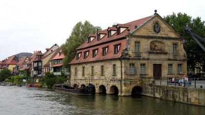 """Ehemaliges Schlachthaus am """"Alten Kranen"""" in Bamberg"""