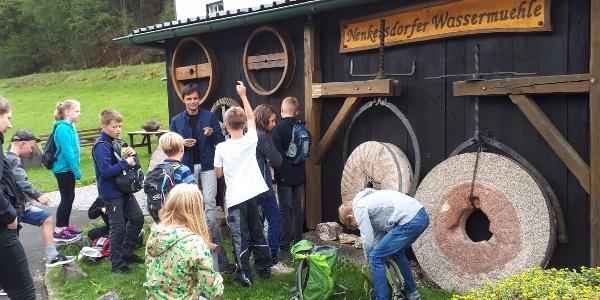 Kinderführung Wassermühle Nenkersdorf