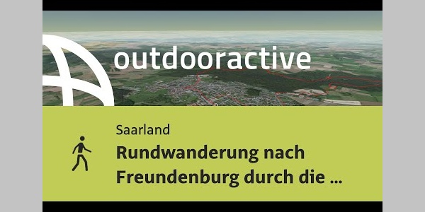 Wanderung im Saarland: Rundwanderung nach Freundenburg durch die Kollesleuker Schweiz