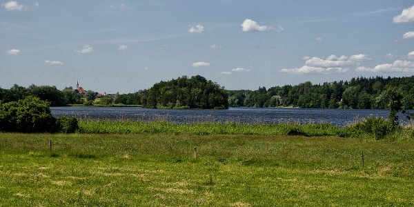 Das Haarmoos und der Abtsdorfer See