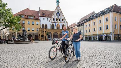 Marktplatz in Amberg