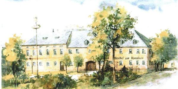 Historische Ansicht Gasthof Mißlareuth