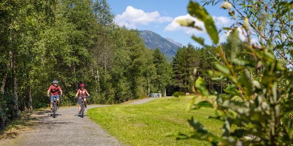 Biken in Längenfeld