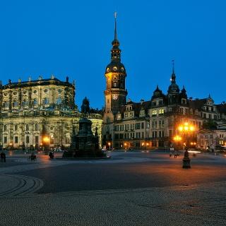 Die Katholische Hofkirche in Dresden