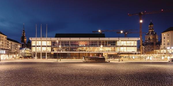 Der Kulturpalast Dresden