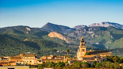 Santa Maria and Tramuntana Mountains