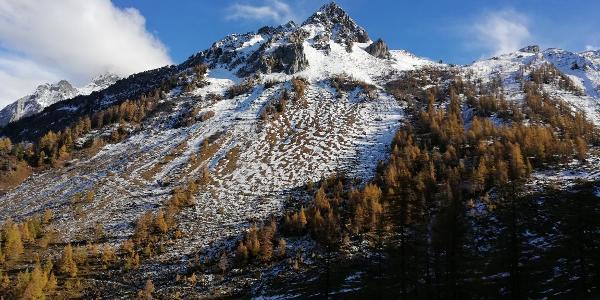Pointe des Savolaires vue depuis Euzanne