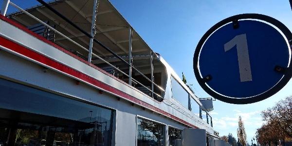 Schiffsanlegestelle Thun.