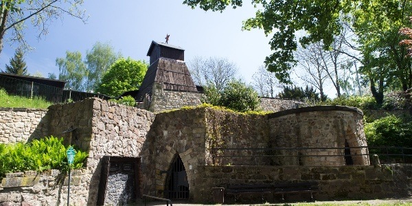 Besucherbergwerk im Schlosspark