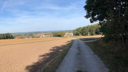 Weg über Schirnsdorf in den Wald