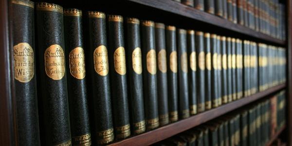 Bücherbände Karl May