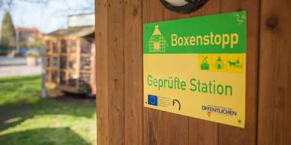 Boxenstopp Logo