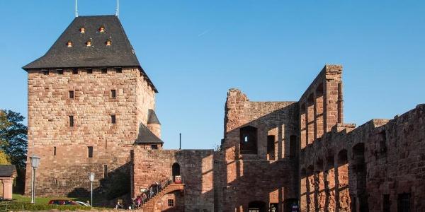… eine Burg … (Burg Nideggen, Palais)
