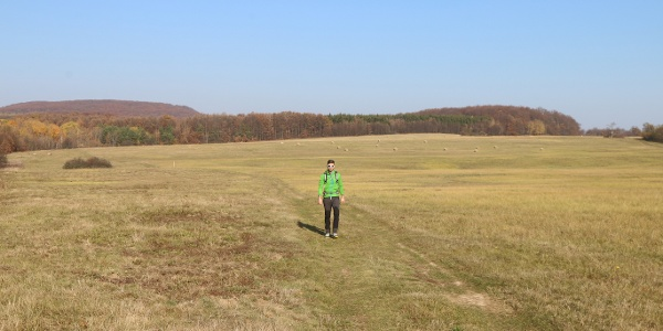 A Medves-fennsíkon a zöld jelzés vezet át