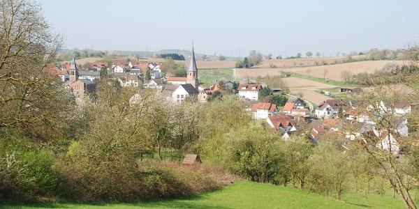 Blick auf Kraihctal-Oberöwisheim