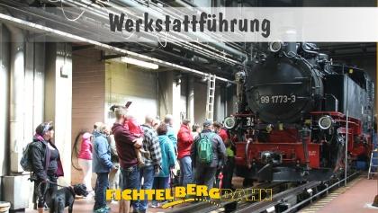 SDG Fichtelbergbahn - Werkstattführung