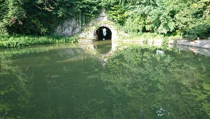 Kanal-Tunnel bei Thoraise