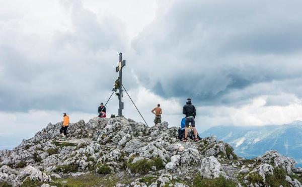 Gipfelkreuz Hochstaufen