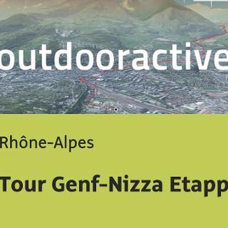 Rennradtour in den Rhône-Alpes: Tour Genf-Nizza Etappe 2