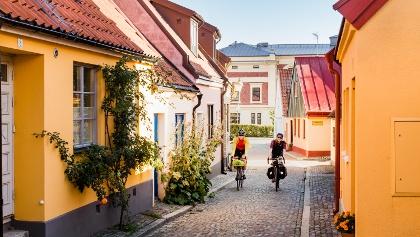 Cycling in Ystad
