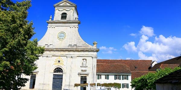 Kloster und Kirche Mariastein.