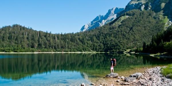 Trnovacko glacier lake