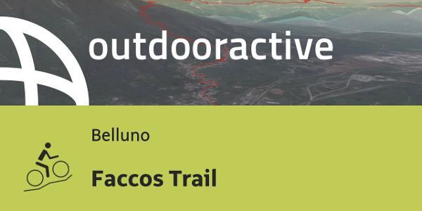 Mountain bike in Belluno: Faccos Trail