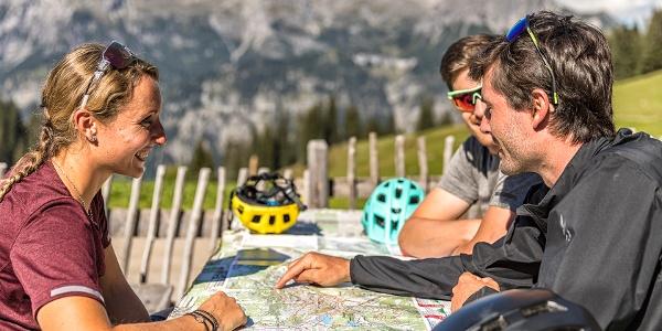 Mountainbiken Alpe Latons