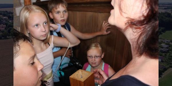 """Kinder entdecken die mittelalterliche Burg Schönfels - ein Projekt 2018 im Rahmen des Bundesprogramms """"museum macht stark"""""""