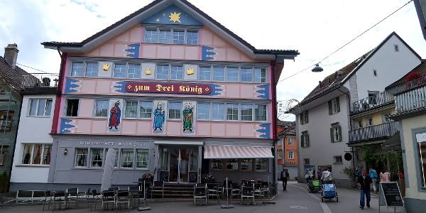 Bäckerei Café Restaurant Zum Drei König Appenzell.