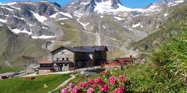 Dresdner Hütte in den Stubaier Alpen