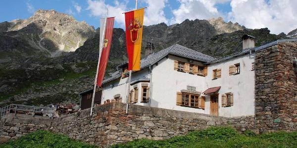 Tübinger Hütte im östlichen Rätikon