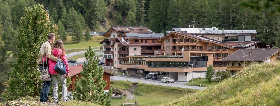 Resort im Sommer