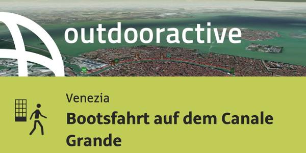 Stadtrundgang in Venezia: Bootsfahrt auf dem Canale Grande