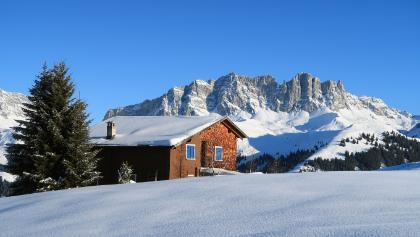 in dieses Foto habe ich mich verliebt, die Dolomiten im Rätikon.