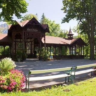 Pavillon im Kurpark Reichenau (Copyright: Marktgemeinde Reichenau)