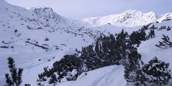 Gressenstein oberhalb seiner gleichnamigen Alm