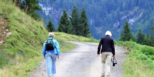 ... unterwegs in der Montafoner Bergwelt