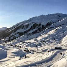 Wunderhübsche Winterlandschaft in Partnun.