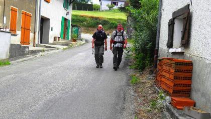 St. Galler & Münchner Pilger bei La Bruyère